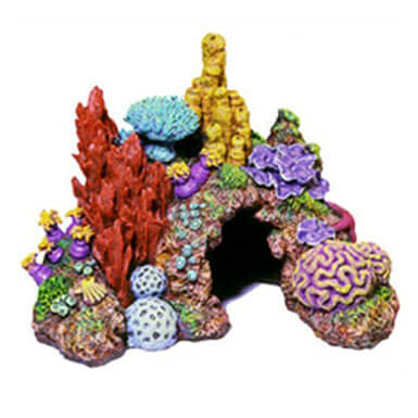Reef fish tank decorations