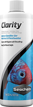 Seachem Clarity Aquarium Water Clarifier